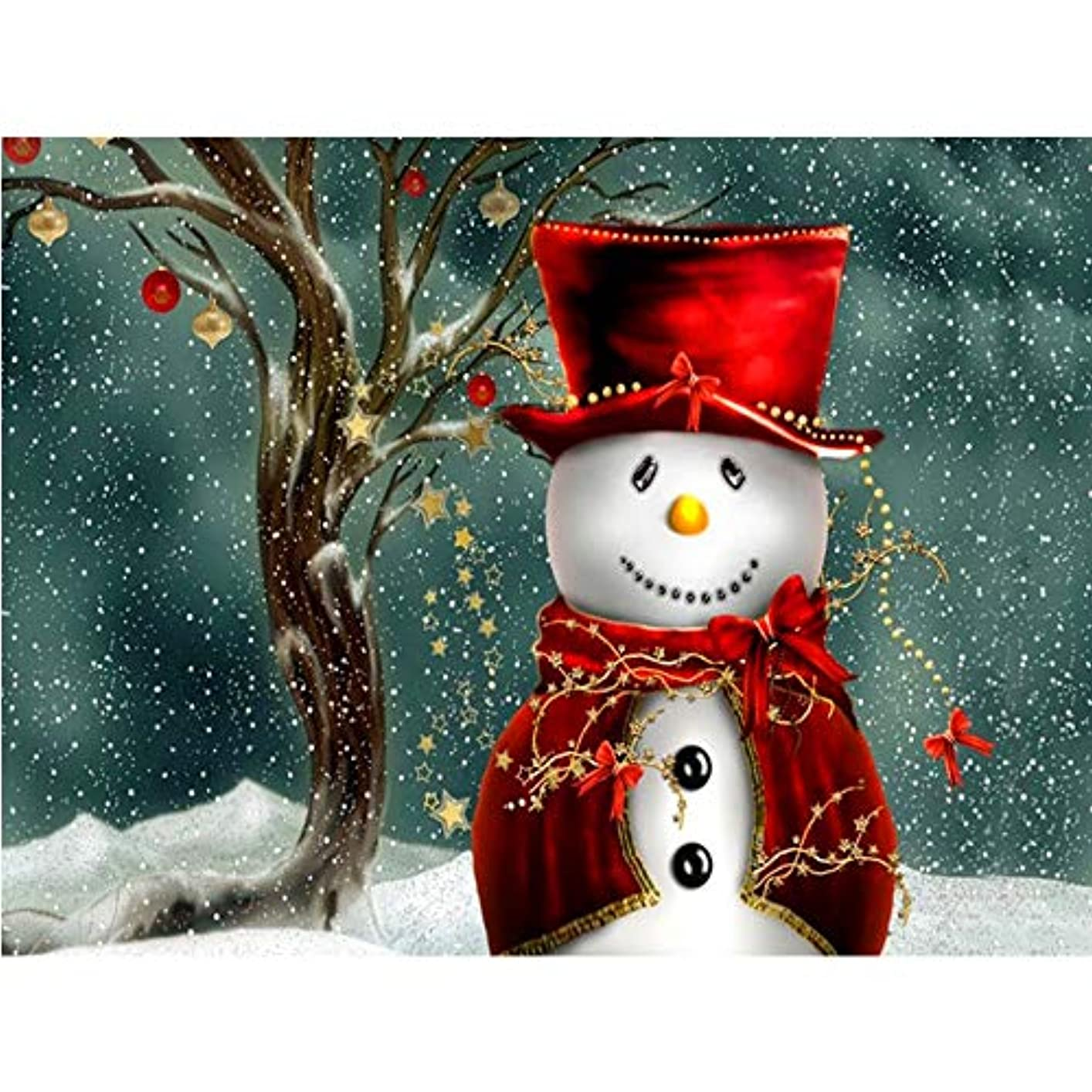 借りる出くわす抑止するEuone ダイヤモンド刺繍 クリアランス クリスマスダイヤモンド ラインストーン 刺繍ペインティング クロスステッチ ホームデコレーション