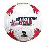 プレミアム公式サイズサッカーボールレッド