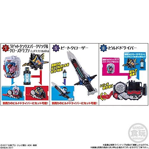 (仮)仮面ライダービルド ラクラクモデラー3 10個入 食玩・清涼菓子 (仮面ライダービルド )