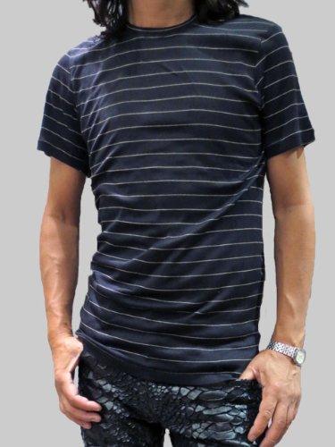 ニットTシャツ 半袖 ボーダー プラダ