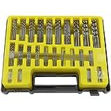ELECSUM 150-Piece Mini Twist Drill Bit Kit Hss Micro Precision Twist Drill 24 Sizes 0.4-3.2Mm