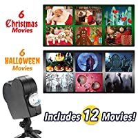 ハロウィン、クリスマスクリスマスのための2019 LEDウィンドウワンダーランドプロジェクター、防水屋外フラッドライトプロジェクションランプまつり夜ライトホームデコレーション