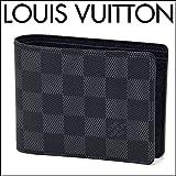 (ルイ・ヴィトン) LOUIS VUITTON ダミエ グラフィット ポルトフォイユ・ミュルティプル N62663 財布 メンズ グラフィット ブラック 二つ折り [並行輸入品]