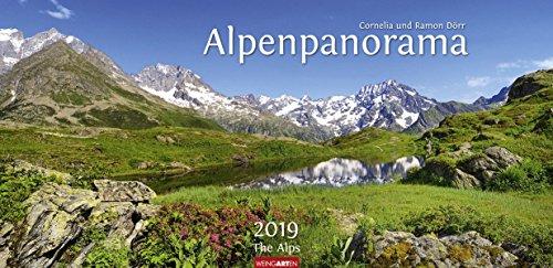 Alpenpanorama - Kalender 2019