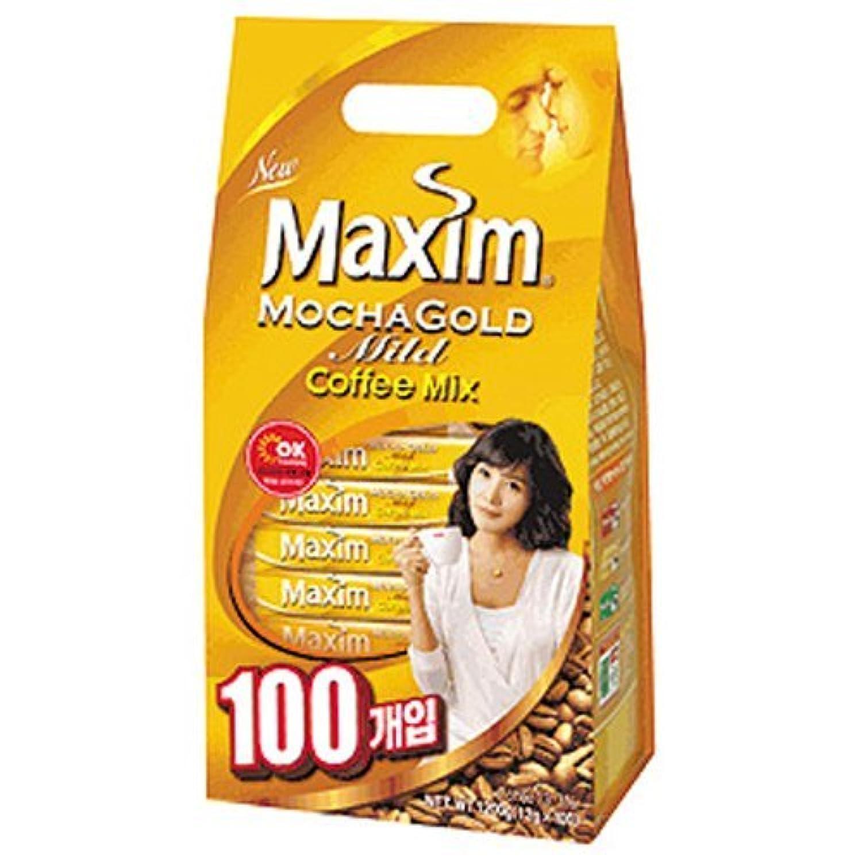 マキシムモカゴールドマイルドコーヒーミックス (12g×100包入り) 1カートン(1.2kg×8袋入り)
