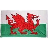 【ノーブランド 品】国旗 国 ウェールズ バナー 飾り 90*150cm