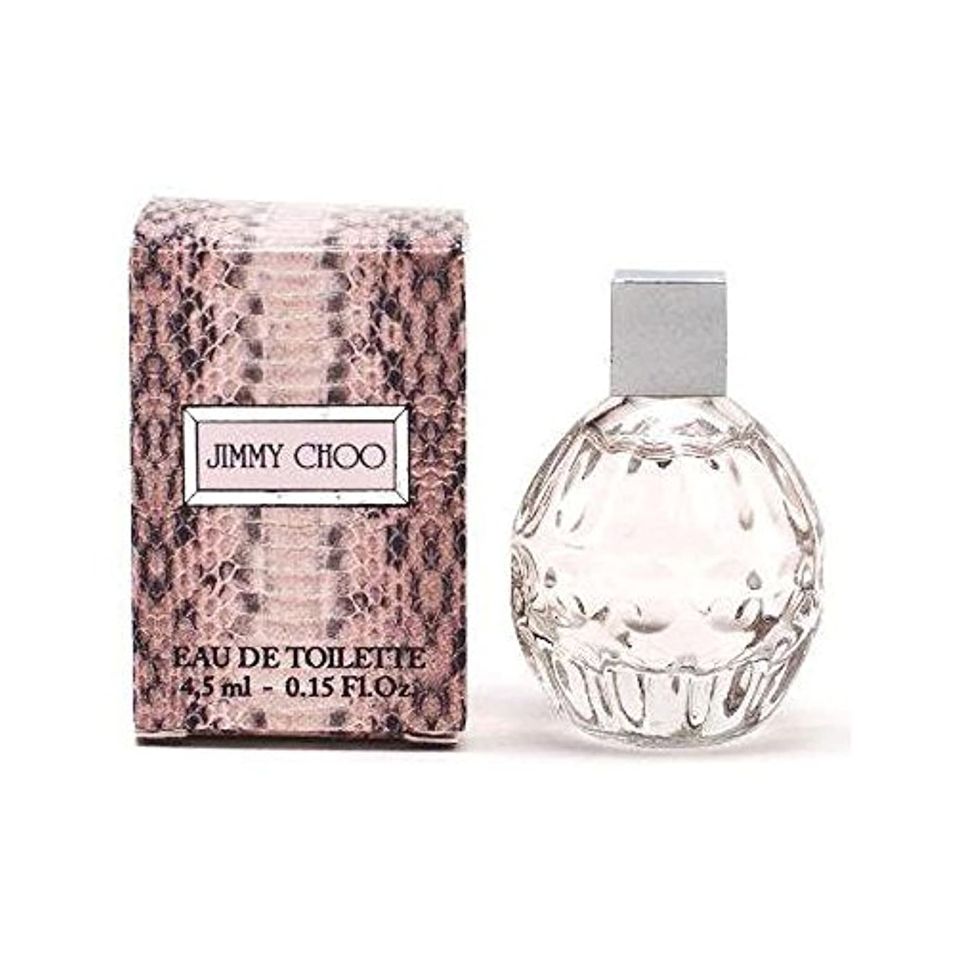 代わって確認してくださいシュートJIMMY CHOO ミニチュア香水 ジミーチュウ オードトワレ 4.5ml EDT [並行輸入品]