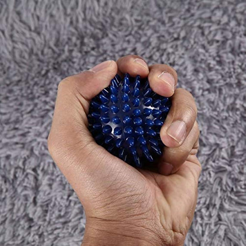 ビルマ繁栄する人工PVC高密度とがったマッサージボール足の痛みと足底筋膜炎緩和剤治療ハリネズミボールマッサージ指圧ボール足の痛みと足底