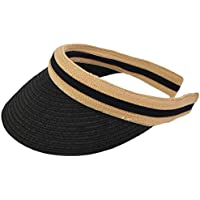 Women Golf Visors Caps Straw Sun Beach Hats