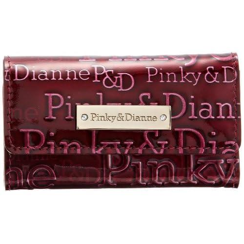 [ピンキーアンドダイアン] Pinky&Dianne アクアリオII キーケース PDLW3RK1 55 (ボルドー)