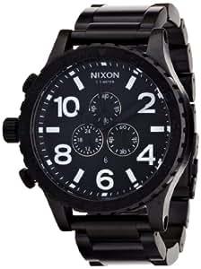 NIXON (ニクソン) 腕時計 THE 51-30 CHRONO ALL BLACK NA083001-00 メンズ [正規輸入品]