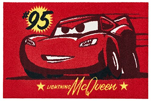 Disney Mat Collection / ディズニー 玄関マット Cars / カーズ マックイーン  50  ×  75  cm BK00049