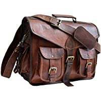 15 Jaald Mens Genuine Leather Messanger Bag for Laptop Bag shoulder bag