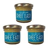 ギー3個セット (グラスフェッド・バター 100%使用) ギー・イージー GHEE EASY (オランダ産) 内容量100g×3個