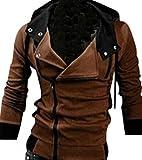 (アルファーフープ) α-HOOP メンズ 襟 広め フード 付き パーカー ジャケット M ~ XXL まで 大きい サイズ も 大人 男 性 用 DP...