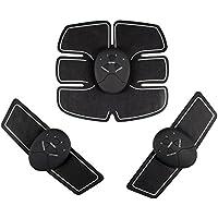 KGB(ケージビー) 腹筋ベルト 多機能 EMS 腹筋 腕筋 腹筋トレーニング ジェルシート 筋トレフィットネスマシーン 痩身 ウエストダイエット 男女兼用