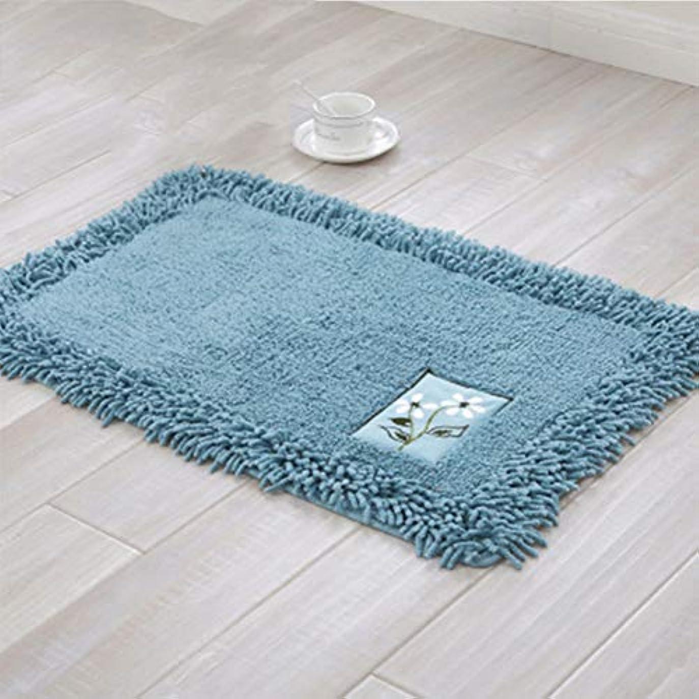 浴室の敷物のマットの超柔らかいおよび吸水性の浴室の敷物、浴室の居間および洗濯部屋のための機械洗浄の乾燥したプラシ天の浴室のマット,B,60X90CM