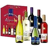 【チリワイン売上No1】アルパカ 6種類 飲み比べBOX 750ml×6本セット