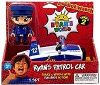Ryan's World 警察車 - ブルーとホワイト