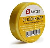 XFastenシリコンセルフFusingテープ1インチx 36-foot イエロー SSFT136