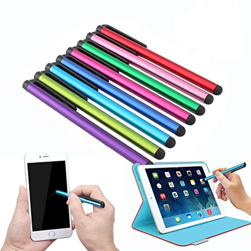 suxidi 10パックラドム色4.1インチユニバーサルタッチ画面Capacitive Stylus for Kindle Ipad Iphone 8 /7 7plus 6 /6s 6plus 6s Plus Android Samsung s5 s6 s7 s8エッジs8 Plus Note