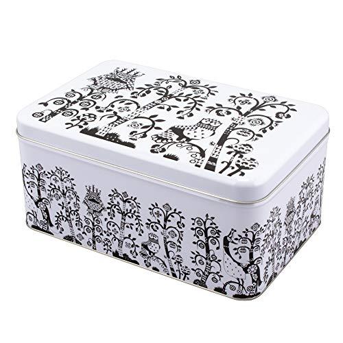 [ イッタラ ] Iittala タイカ Taika メタルボックス ブラック 1008979/6428501108737 Taika Metal Box Black 缶 箱 収納 雑貨 キッチン インテリア 北欧 フィンランド [並行輸入品]