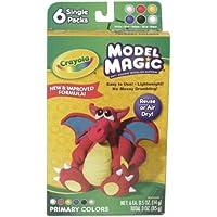 Crayolaモデルマジック。5オンス6 Per Package 23-2402