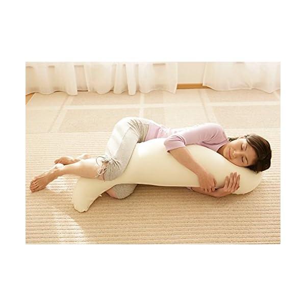 王様の抱き枕 ライトグリーン (専用カバー付)...の紹介画像4