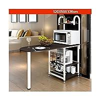 家具 キッチン 台所 収納 炊飯器やレンジ、キッチン家電を置いてもっと便利に ラック 食器棚 棚 すきま収納 隙間収納 便利 キッチン レンジ 電子レンジ 収納 便利 素敵 生活