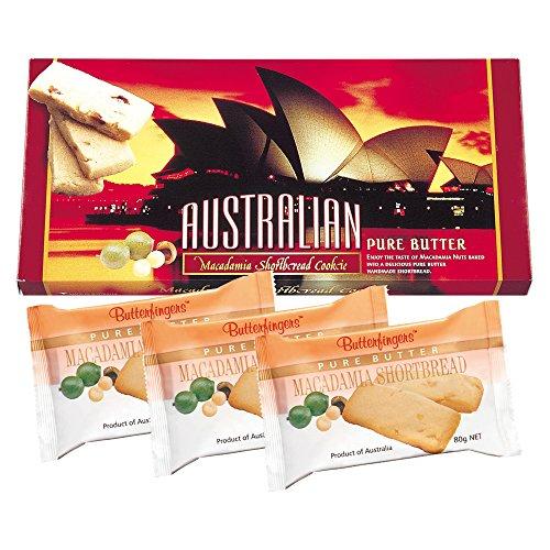 オーストラリアお土産 オペラハウス マカデミアナッツ ショートブレッド 1箱