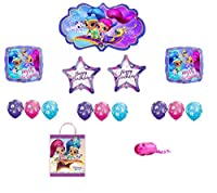 Shimmer and Shine Happy Birthday Balloon Bouquet