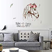 Nicircle DIYミステリアスガーデンTVの背景の壁の装飾取り外し可能な壁のステッカー DIY Mysterious Garden TV Background Wall Decoration Removable Wall Stickers ウォールステッカー 壁紙 部屋飾り 剥がせる 2019 Fsahion Wall Stickers
