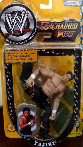 TAJIRI WWE Unchained Fury Yellow Carded Figure [並行輸入品]
