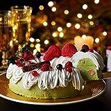 伊藤久右衛門 クリスマスケーキ 宇治抹茶 アイスケーキ いちご ホールケーキ 6号