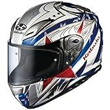 オージーケーカブト(OGK KABUTO)バイクヘルメット フルフェイス AEROBLADE3 STELLATO (ステラート) トリコロール (サイズ:M)