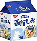 日清のラーメン屋さん 函館しお 5食パック 435g×6袋
