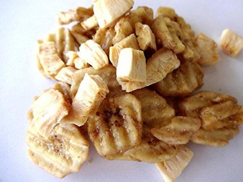 (焼きココナッツ&塩バナナチップ  100g×3P)
