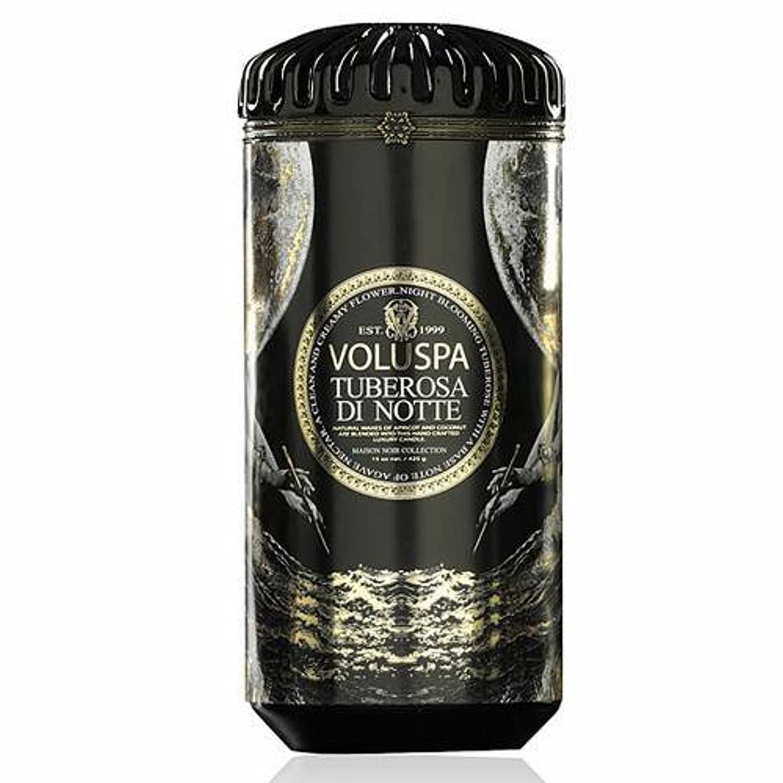 Voluspa ボルスパ メゾンノワール セラミックキャンドル チューベローズ ディ ノッテ MAISON NOIR Ceramic Candle TUBEROSA DI NOTTE