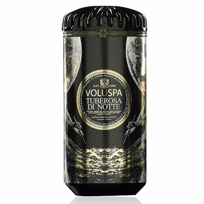 積極的に承知しましたギャザーVoluspa ボルスパ メゾンノワール セラミックキャンドル チューベローズ ディ ノッテ MAISON NOIR Ceramic Candle TUBEROSA DI NOTTE