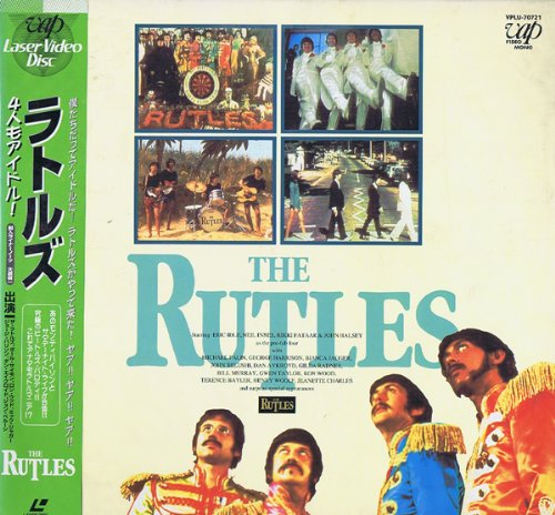ラトルズ/4人もアイドル[THE RUTLES/ALL YOU NEED IS CASH] [Laser Disc]