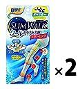 【2点セット】 ピップ スリムウォーク クールおやすみ美脚スーパーロング S~M ライトブルー