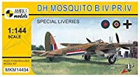 マーク1 1/144 イギリス海外航空 D.H.モスキート B.4/PR.4 スペシャル リバリー プラモデル MKM14494