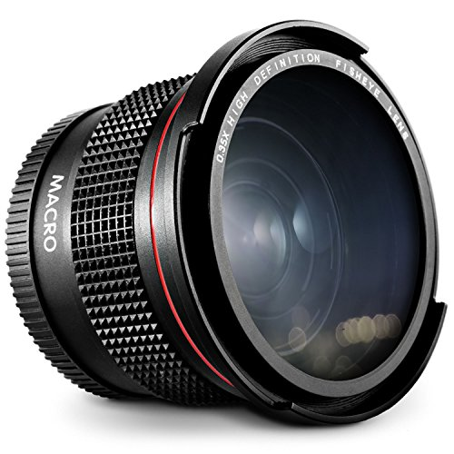 Theera–58mm 0.35X魚眼レンズ広角レンズfor Canon t6i t5i t5t4i t3i t3Yrs 1434