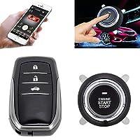 車の交換部品 RFIDスマートキーレスカースイッチ車のエンジンスタートストップスイッチ車のプッシュスタートスイッチトヨタ、携帯電話とのリンク