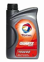 TOTAL ( トタル ) エンジンオイル【QUARTZ 5000】15W-40 1L 166236【HTRC3】