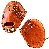 ハイゴールド 軟式 ファースト ミット NPF-260 グローブ 軟式 HI-GOLD 【Sale】 野球用品 スワロースポーツ オレンジ 右投用(LH)