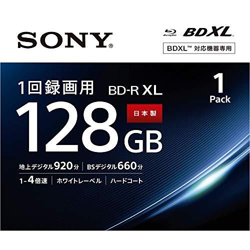 ソニー SONY ビデオ用ブルーレイディスク (1枚パック) BNR4VAPJ4 / 日本製 / 4層 / BD-R / 4倍速対応