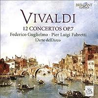 12の協奏曲作品7 グリエルモ、ファブレッティ、ラルテ・デラルコ(2CD)