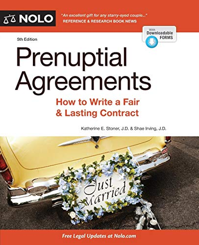 Download Prenuptial Agreements: How to Write a Fair & Lasting Contract 1413323022