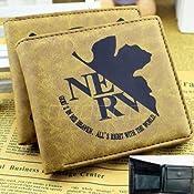 新世紀エヴァンゲリオン 茶色 財布 エヴァ サイフ 小銭入れ